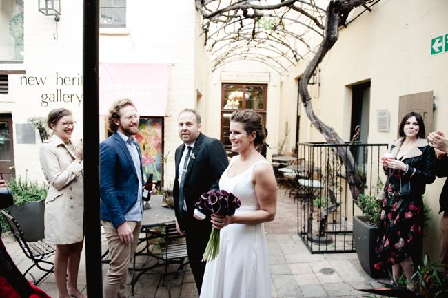 Modern Inner City Wedding at HQ Restaurant