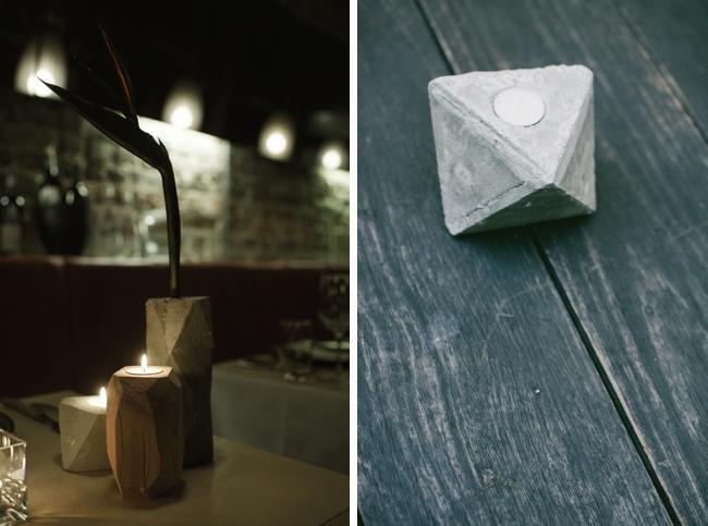 Natural Elements Wedding Decor