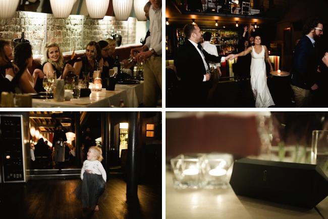 Graphic Inner City Wedding at HG Restaurant