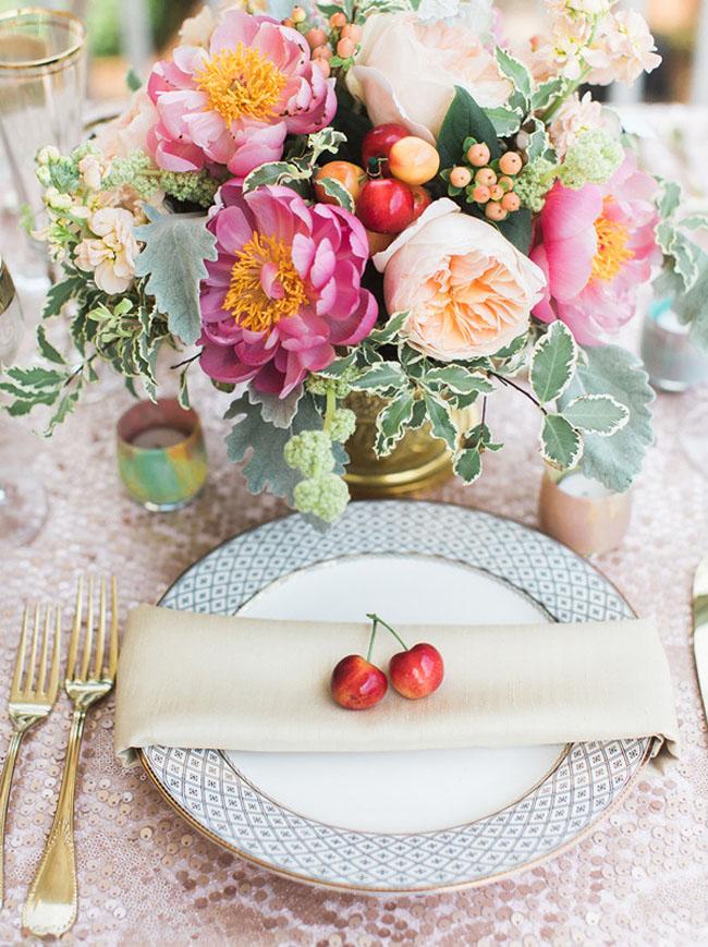 20 fruit vegetable place settings southbound bride. Black Bedroom Furniture Sets. Home Design Ideas