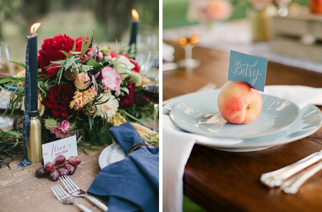 20 Fruit & Vegetable Place Settings | SouthBound Bride