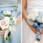 Something Blue Wedding Bouquets