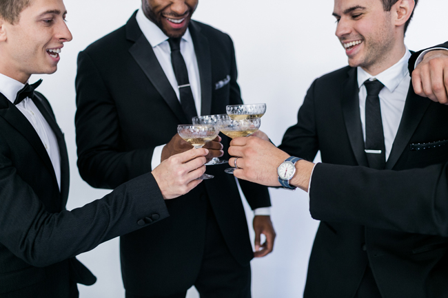 Groomsmen | SouthBound Bride | Credit: Alexis June Weddings