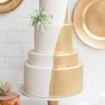 20 More Metallic Wedding Cakes