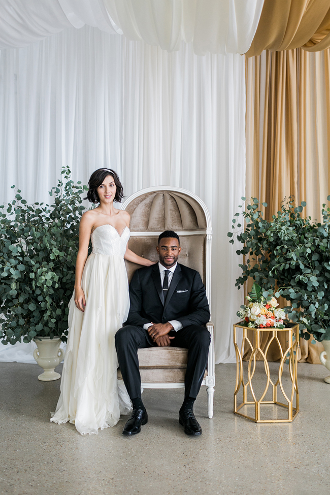 Bride & groom | SouthBound Bride | Credit: Alexis June Weddings
