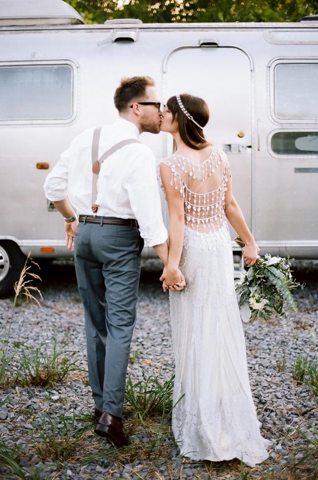 airstream trailer wedding