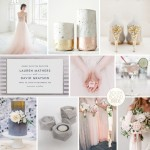Inspiration Board: Rose Quartz & Concrete