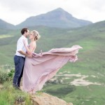Golden Gate Romance with a Rose Quartz Dress