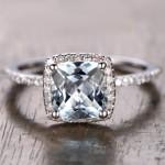 20 Something Blue Engagement Rings