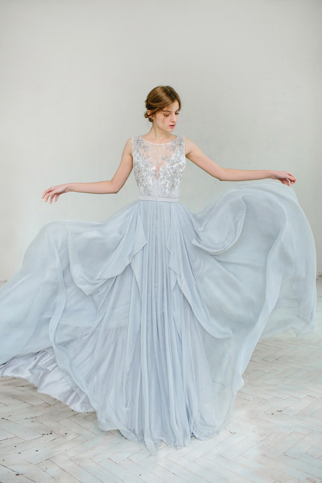 003-Blue Wedding Dresses from Etsy
