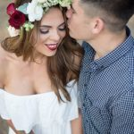 Forest Fling Engagement Shoot by Laura Leigh