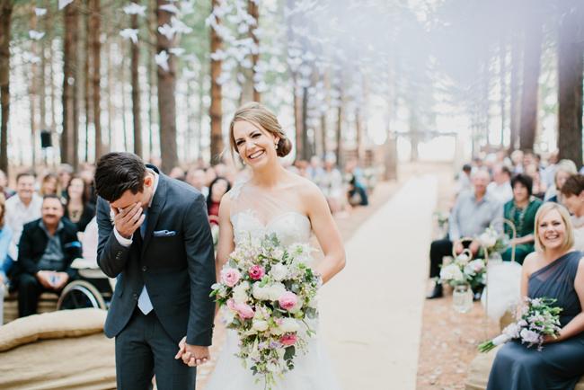 Emotional Wedding Ceremony | Credit: Carolien & Ben