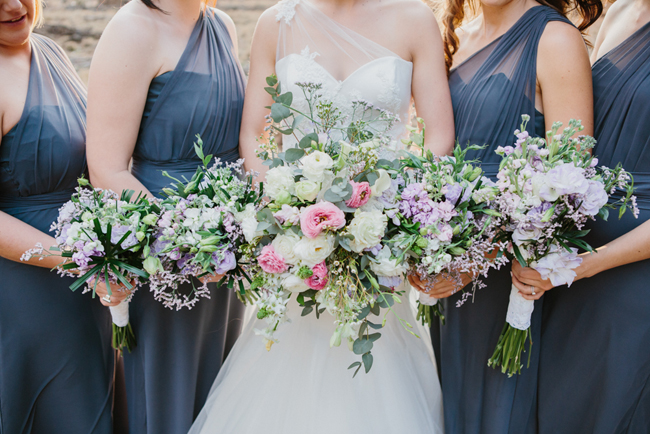 Pastel Wedding Bouquet   Credit: Carolien & Ben