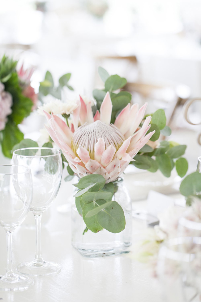 Blushing Bride Protea Wedding By As Sweet As Images