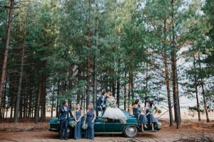Wedding Party in Forest | Credit: Carolien & Ben (19)