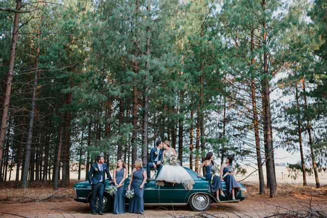 Wedding Party in Forest   Credit: Carolien & Ben (19)