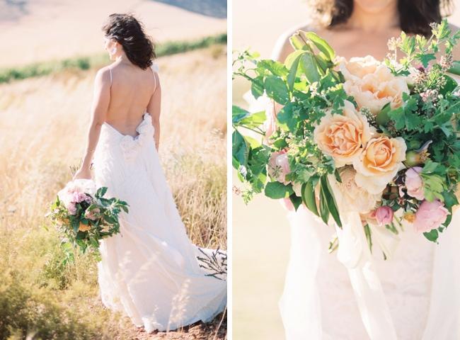Natural Light Wedding Photography: Summer Garden Wedding Inspiration By Natural Light