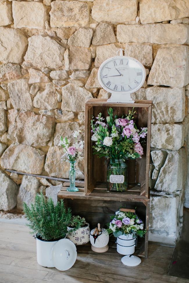 Charming Forest Wedding Decor | Credit: Carolien & Ben