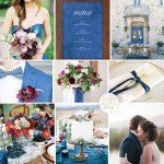 Inspiration Board: Berries & Blues