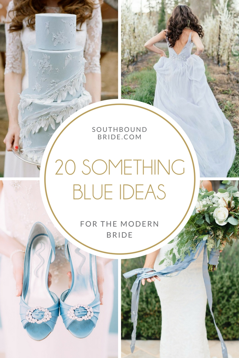 20 Ideas for Something Blue at Your Wedding