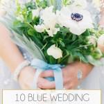 10 Blue Wedding Colour Palettes