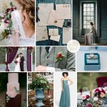 Inspiration Board: Berry & Teal