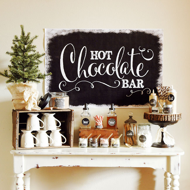 DIY Hot Chocolate Bar on SouthBound Bride 008