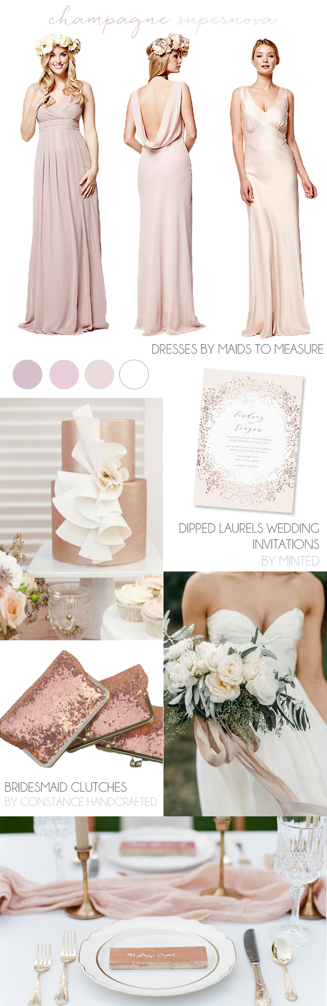 Mismatched Pastel Bridesmaid Dresses Done Right! | SouthBound Bride
