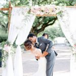 20 Romantic Draped Ceremony Arches
