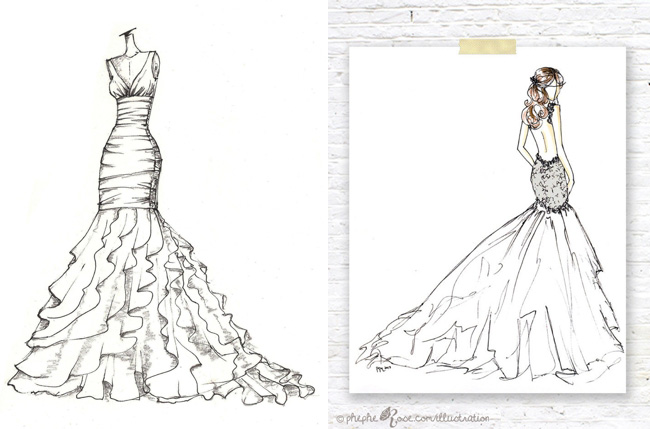 10 Custom Bridal Ilration Keepsakes Southbound Bride