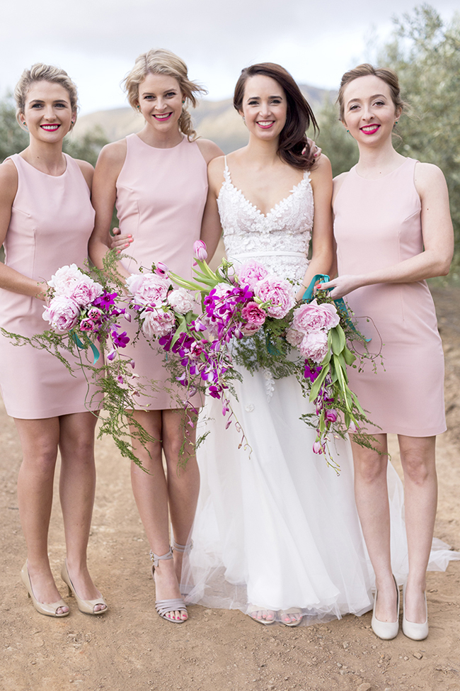 Dusty Rose Dresses