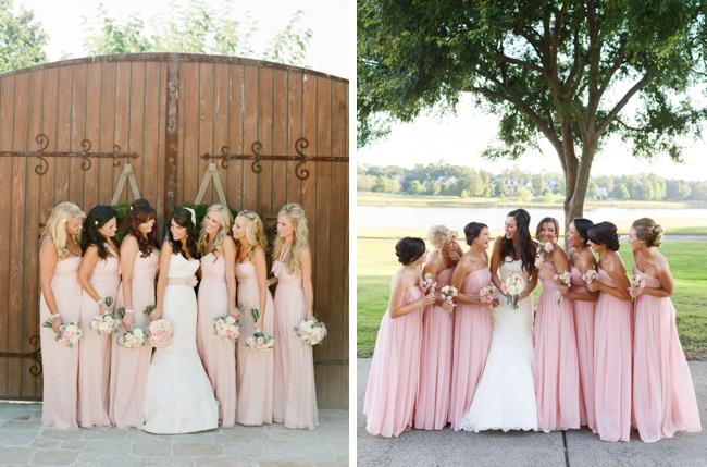 bf7c7c7e944 004-Pantone Rose Quartz Bridesmaid Dresses on SouthBoundBride ...