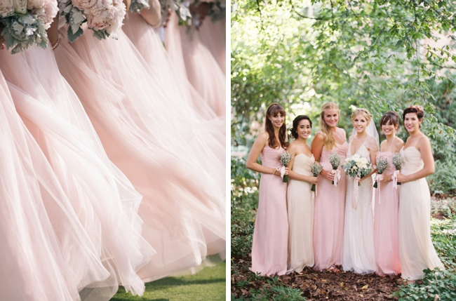 Millennial Pink Bridesmaid Dresses