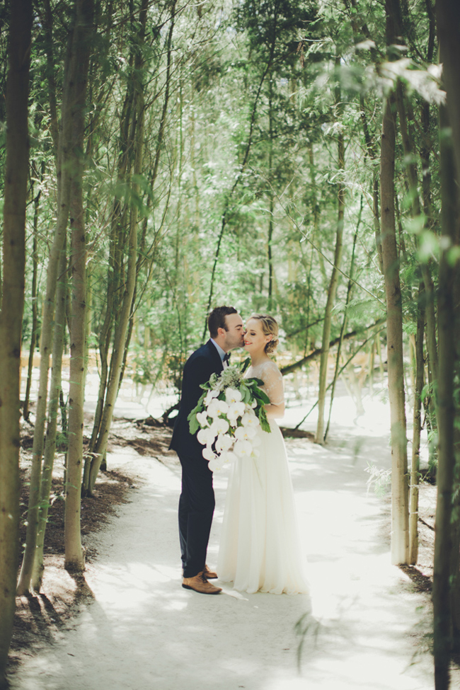 Magical Forest Wedding | Image: Fiona Clair