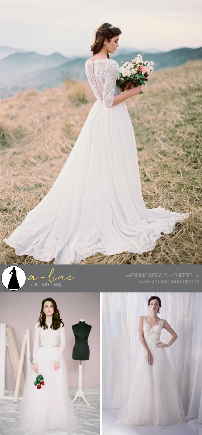 Different Types Of Wedding Dresses Southbound Bride