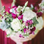 Marsala Elegance Wedding at The Rose Pavilion by Genevieve Fundaro