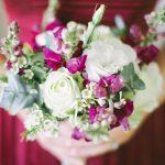 Marsala Elegance Wedding at The Rose Pavilion by Genevieve Fundaro