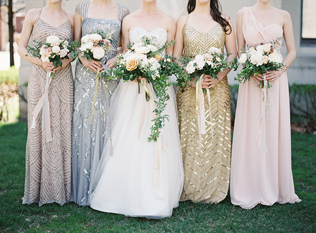 Sequins Continue To Be Beloved By The Bridal Crowd For 2017 With A Of Twists Mixed Metallics Are One Most Gorgeous Options After All
