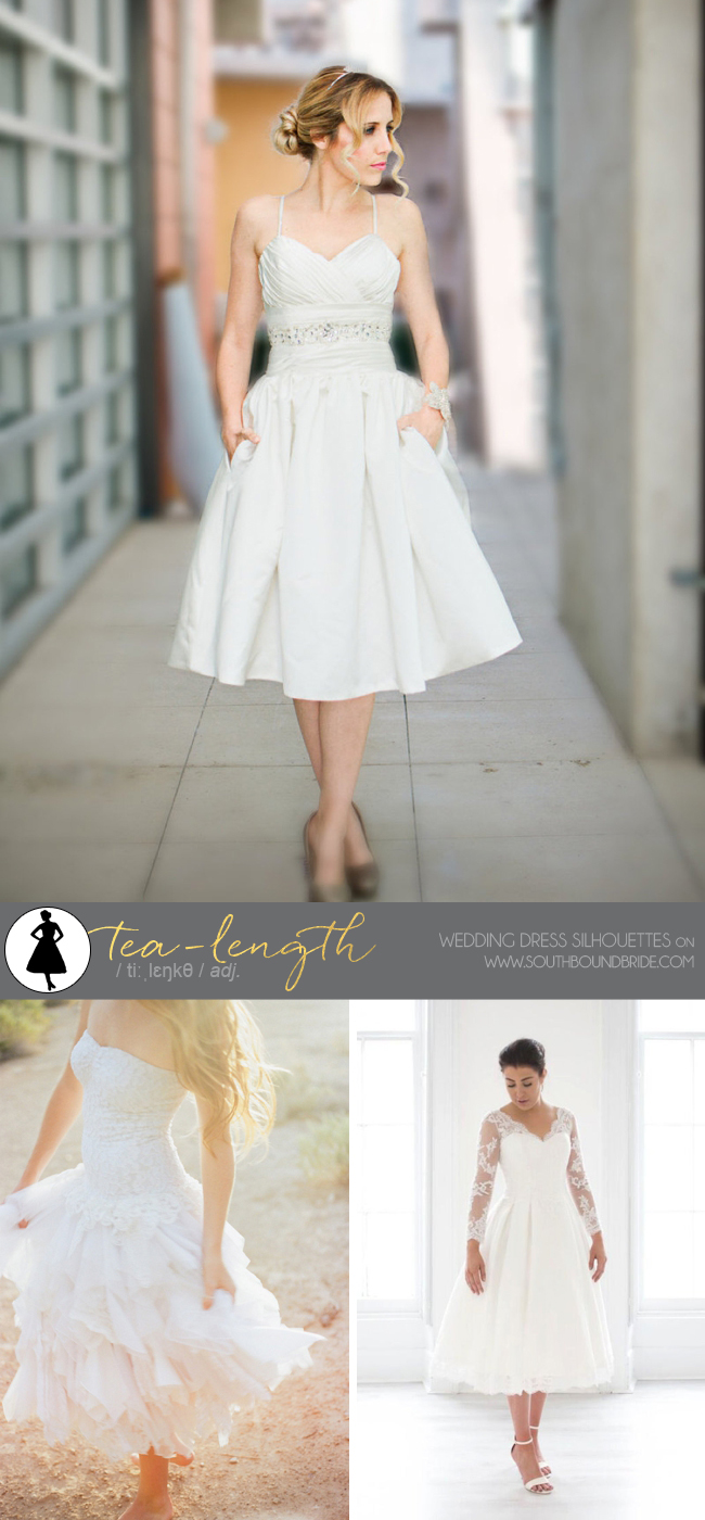 A SouthBound Guide To Wedding Dress Silhouettes