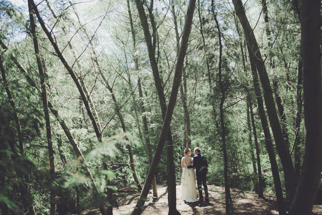 Forest Wedding | Image: Fiona Clair
