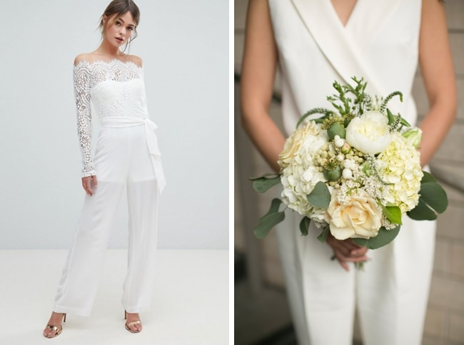 Bridal Jumpsuits UK ASOS