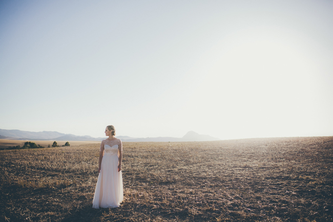Robyn Roberts Wedding Dress | Image: Fiona Clair