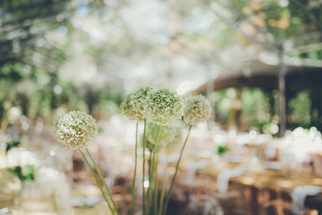 Magical Forest Wedding Flowers | Image: Fiona Clair