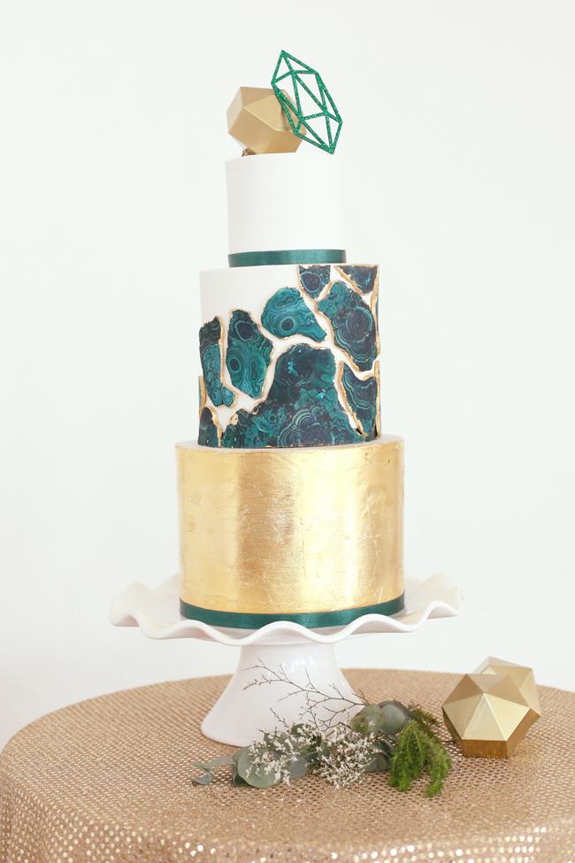 027-Geometric Vogue Minimalism Wedding Inspiration by HelloLovePhotography