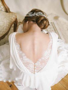 Statement Back Wedding Dresses