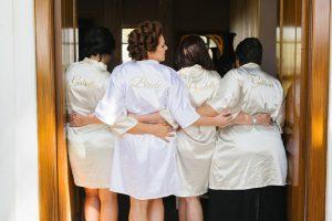 Custom Satin Bridesmaid Robes