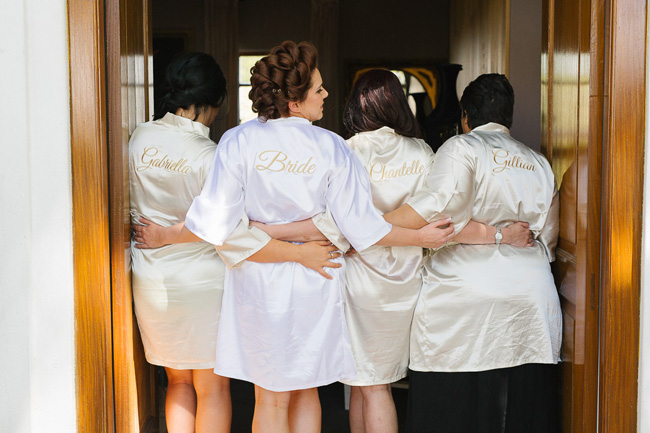 Custom Satin Bridesmaid Robes