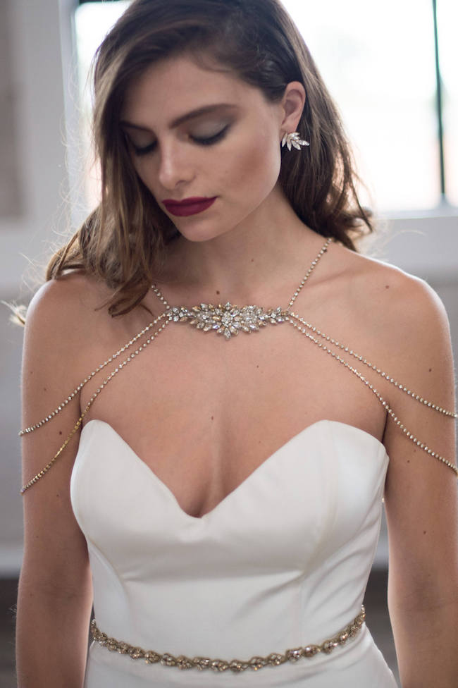 Crystal Bridal Body Jewelry