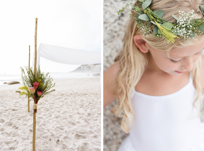 Elegant Cape Town Beach Wedding by Samantha Clifton Photography