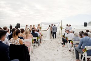 Clifton Beach Cape Town Wedding Ceremony